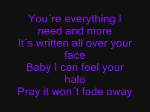 Beyonce - Halo ( Lyrics/Songtext ) - YouTube