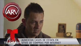 Alerta por estafa en compras por Internet | Al Rojo Vivo | Telemundo