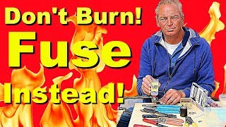 Don't Burn, Fuse Instead! Solar Fuses Explained and Demonstrated