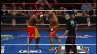 Allan Goes vs Homer Moore - Round 2, TKO