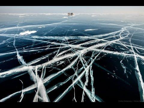 фото замерзшее озеро
