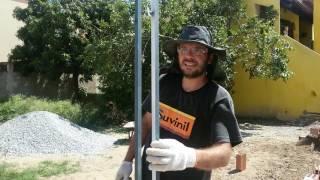 Pedreiro inventa - Aprumador de tijolo: um adianto na obra
