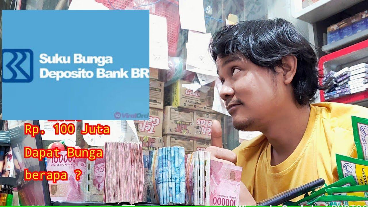 Bunga deposito Bank Bri - YouTube