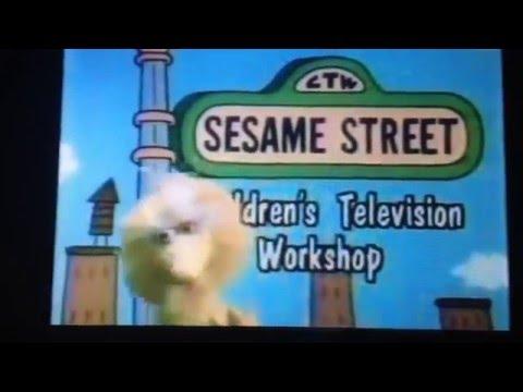 CTW Sesame Street Custom Logo 1993