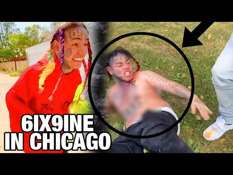 6ix9ine Caught LACKING in Chicago for the FIRST TIME!