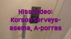 Hissivideo: Korson terveysasema, Vantaa, A-porras - 1991 KONE M (manuaaliovinen)