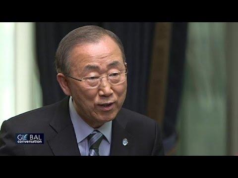 """Ban Ki-moon: """"Handelt jetzt! Der Planet Erde brennt"""""""