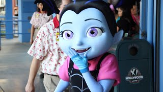 Vampirina Character Disney Junior Meet and Greet at Disney California Adventure, Disneyland Resort