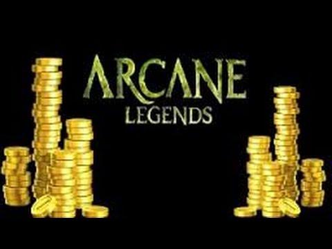 ARCANE LEGENDS : Farm Gold Best Map