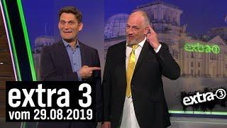 Extra 3 vom 29.08.2019 im Ersten | extra 3 | NDR