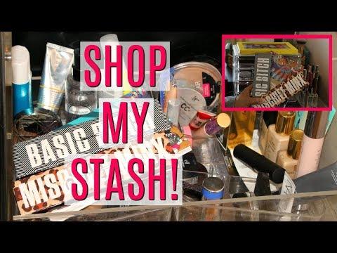 Shop My Stash/Everyday Makeup Drawer! 2017   DreaCN