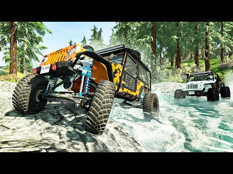 Off Road Extreme Crashes #1- Beamng drive |