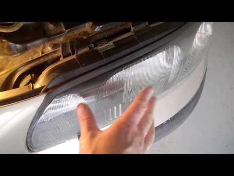 Condensation inside the headlights Volvo S60