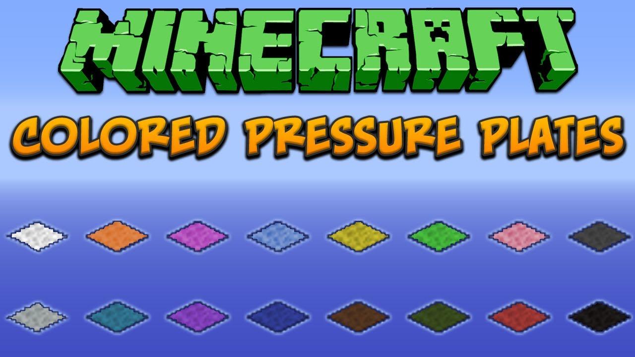 Pressure Plate Minecraft