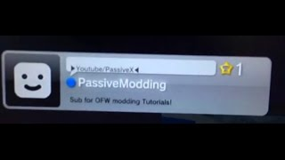 [STILL WORKING] Modded Comment OFW PS3 (Make your own) [PS3/OFW] MODDED BACKUP