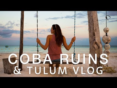 🇲🇽  COBA RUINS & CENOTES VLOG - Tulum 🇲🇽  | Travel better in Mexico!