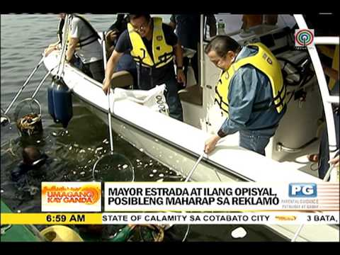 Pasig River Inspection at Umagang Kay Ganda
