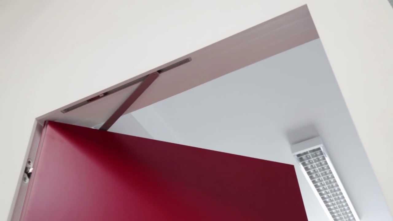 Funzionamento chiudiporta a scomparsa su porta a battente - Come regolare un chiudiporta ...