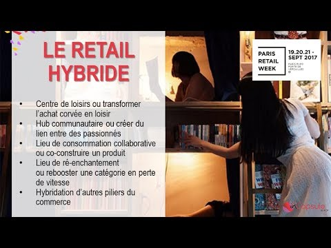 Paris Retail Week 2017 :  Retail Hybride par InCapsule by Ifop (2/3)