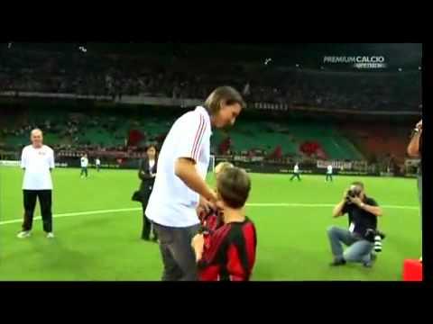 Zlatan Ibrahimovic Presentation at AC Milan(29/8/2010)