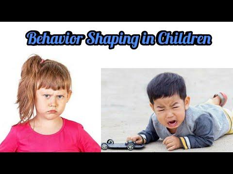 Behavior Shaping in Children