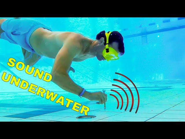 How good can you hear sounds underwater?
