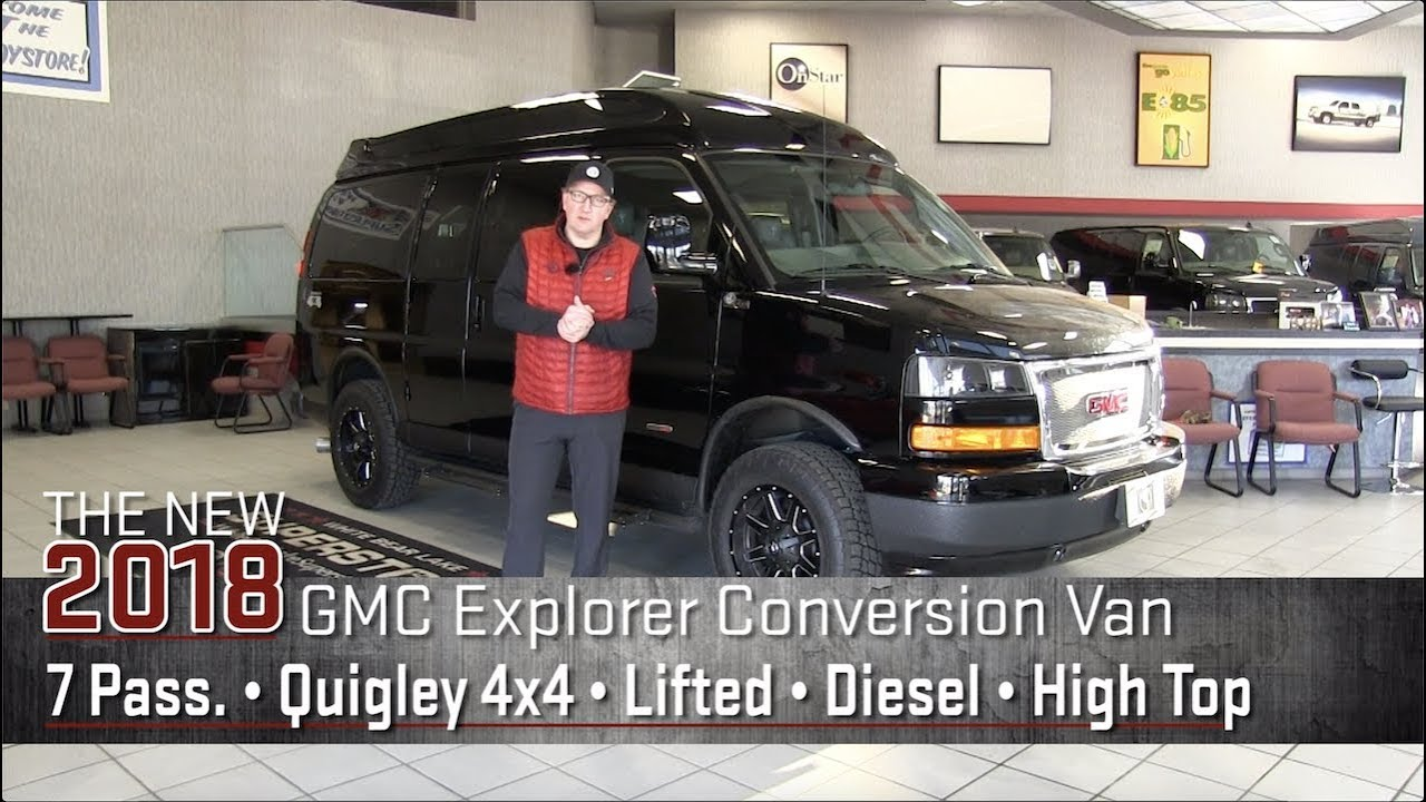 New 2018 Lifted Duramax Diesel Quigley 4x4 GMC Conversion ...