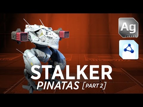 Walking War Robots Stalker Gameplay: Pinatas (part 2)