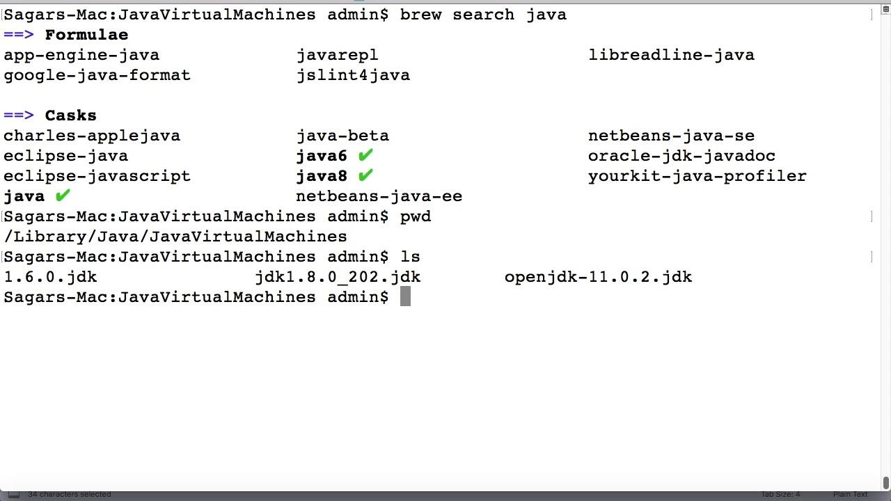 Openjdk 11 Mac