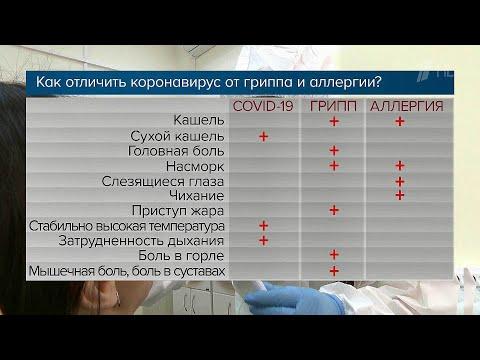 Как не перепутать симптомы коронавируса и весеннего поллиноза?