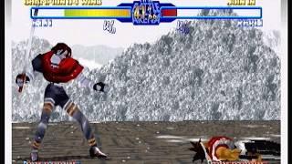 Ten Minute Teaser - Battle Arena Toshinden URA (Sega Saturn) Gameplay
