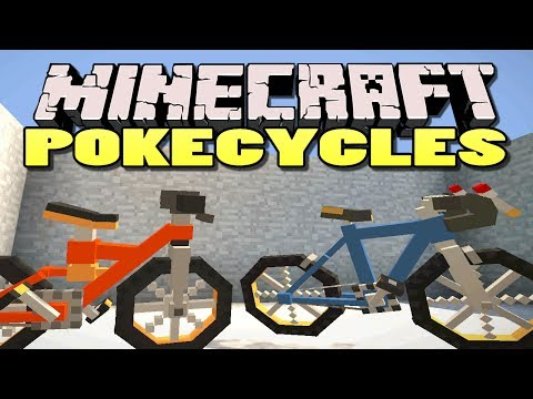 Minecraft: PokeCycle Mod | Rideable Bikes in Minecraft!