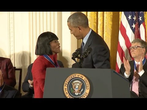 Cicely Tyson Awarded Medal Of Freedom