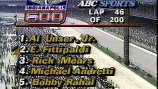 1986 Indianapolis 500 - FULL RACE ORIGINAL SATURDAY COVERAGE