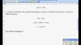 lineærefunktioner og økonomisk analyse.wmv