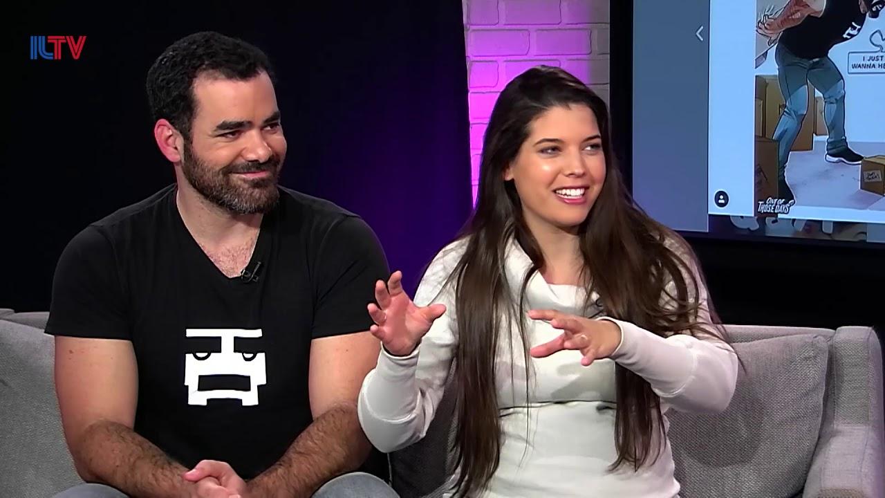 Yehuda and Maya Devir share whats behind their comics