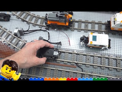 Lighting LEGO trains: Experiments, dropping stuff, complexities - LMLC #9