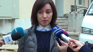 Maia Sandu, declaraţii din 13 octombrie 2017