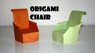 Diy Paper Crafts :: Origami Paper Chair - Innovative Paper Arts