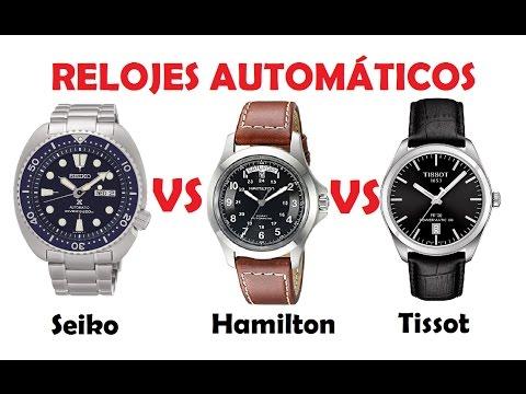 Seiko VS Hamilton VS Tissot - RELOJES AUTOMÁTICOS INTERESANTES - 500