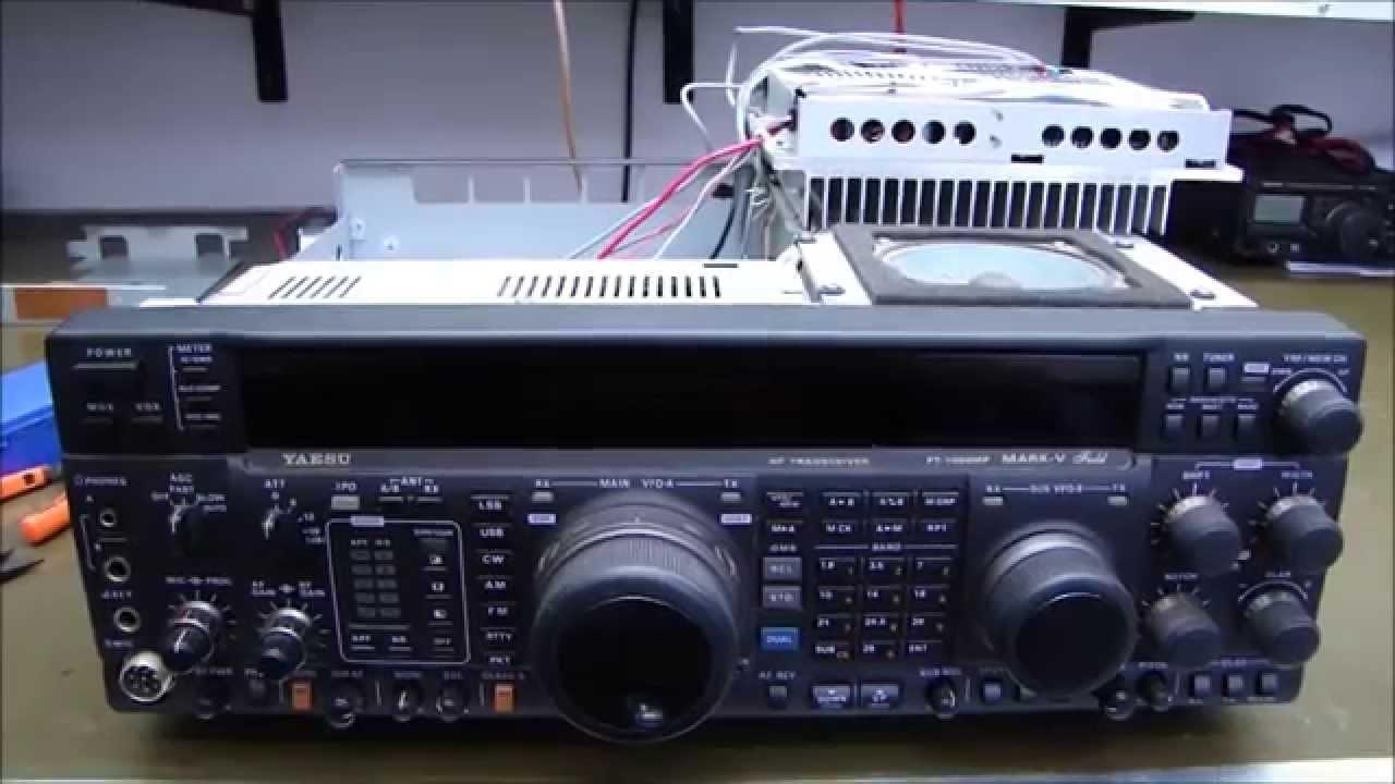 ALPHA TELECOM: YAESU FT-1000MP MARK V FIELD SEM POTÊNCIA e DICAS DE LIMPEZA