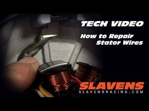 How to Repair Stator Wires  Tooth Stator Wiring Diagram on
