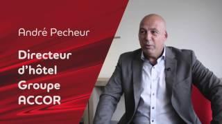 André Pecheur Directeur d'hôtel Groupe ACCOR témoigne