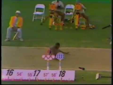 1984 Olympic Games   Men's Triple Jump