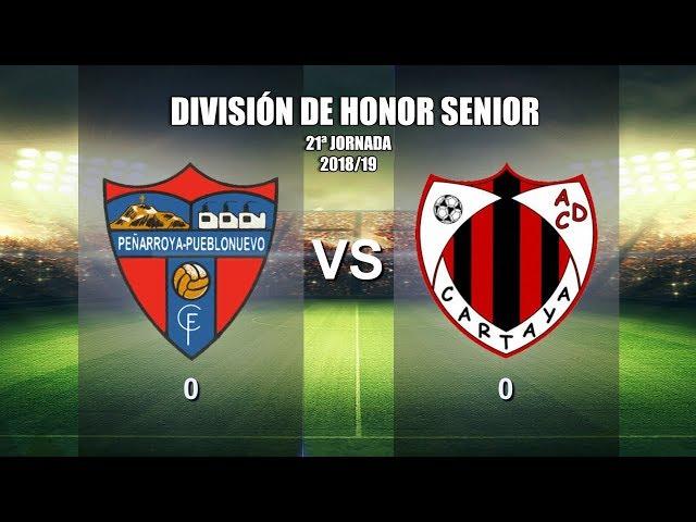 Peñarroya CF vs AD Cartaya (2018/19)