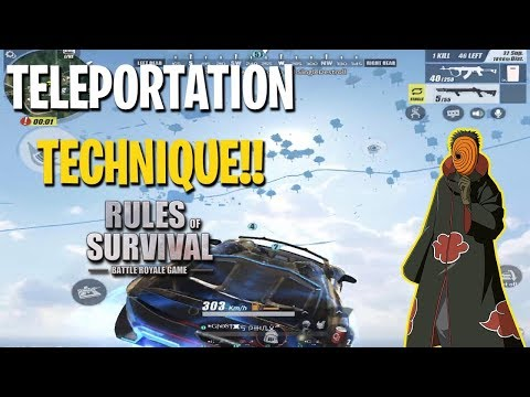 TELEPORTATION TECHNIQUE IN RULES OF SURVIVAL!! (Tagalog)