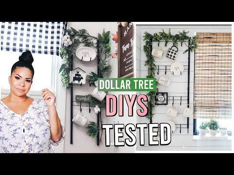 TESTING DOLLAR TREE DIYS 2019! Are They REALLY Worth a Try?! #1 | Sensational Finds