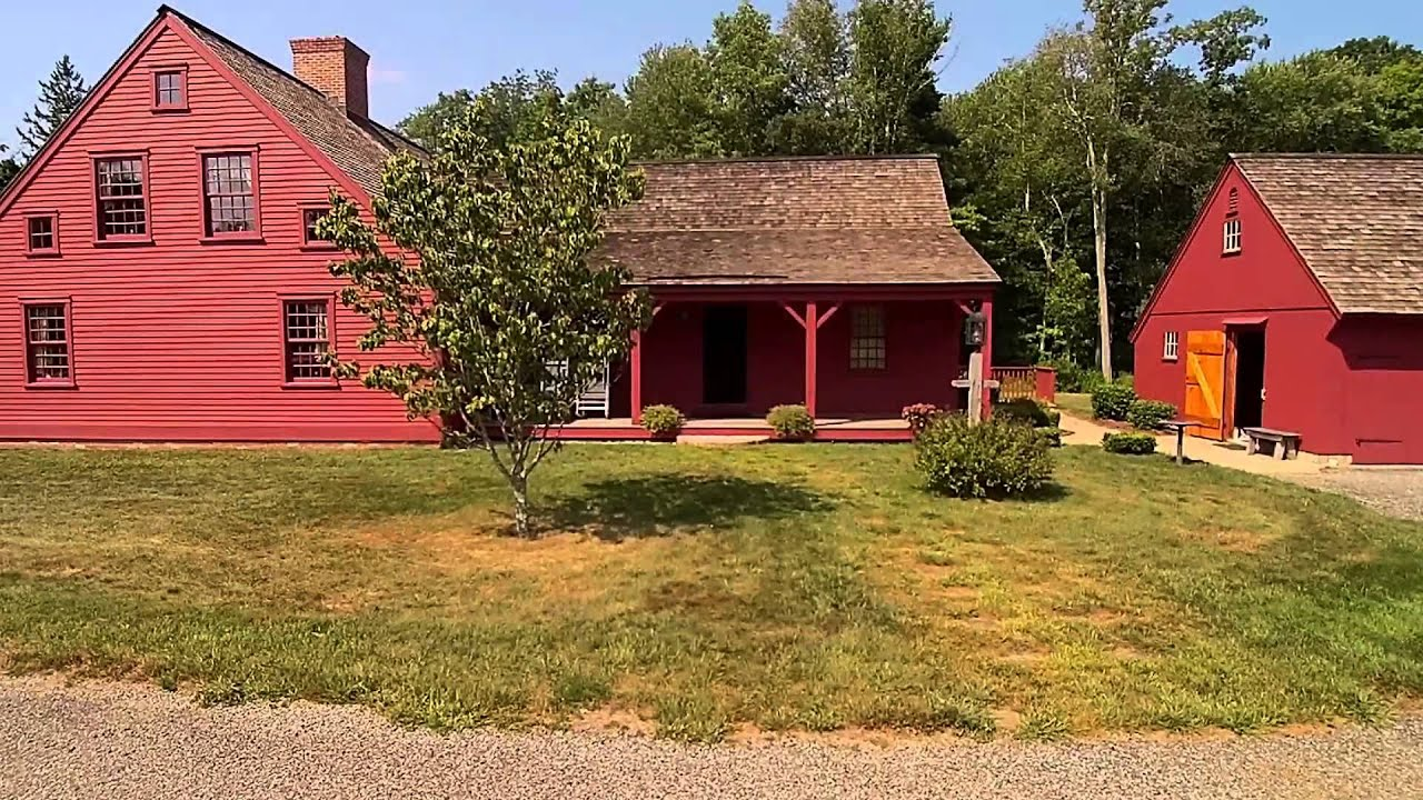 Early New England Homes Uav Test Flight Youtube