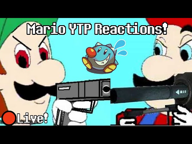 🔴Sir TapTap Reacts to Hotel Mario Youtube Poops | YTP Reaction Stream