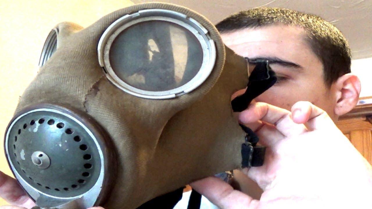 British Ww2 Military Gas Masks Youtube